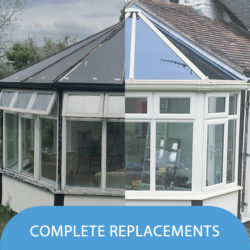 New Conservatories and New Conservatory Fitting, Replace your old Conservatory - Worcester and Malvern