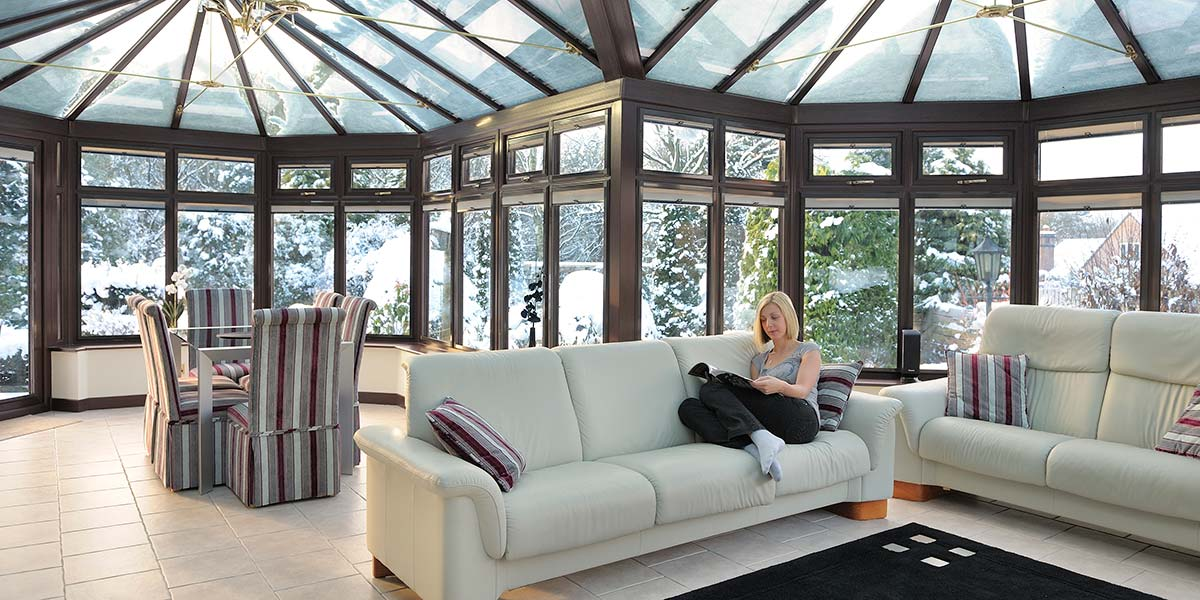 Conservatories in winter Worcestershire