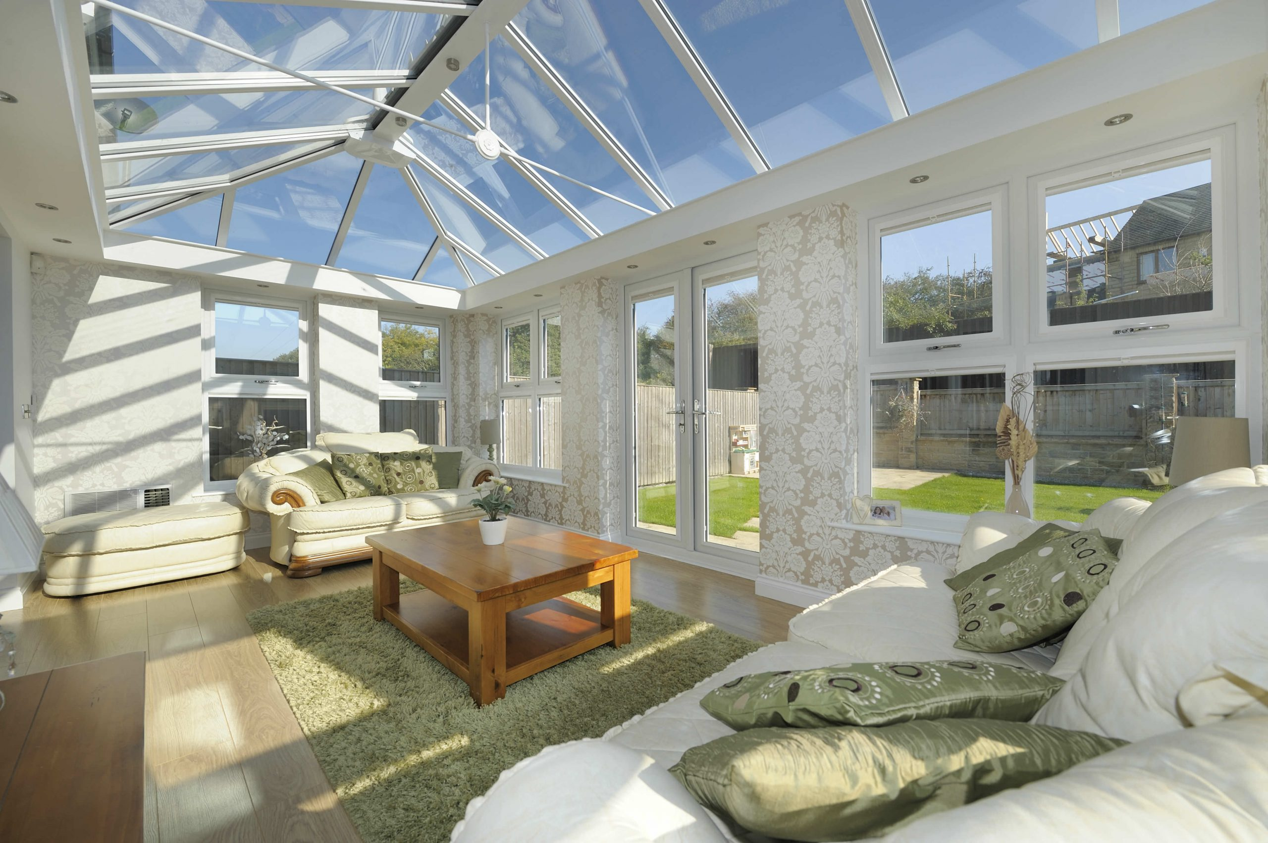 Glass Conservatory Roof Cost Malvern