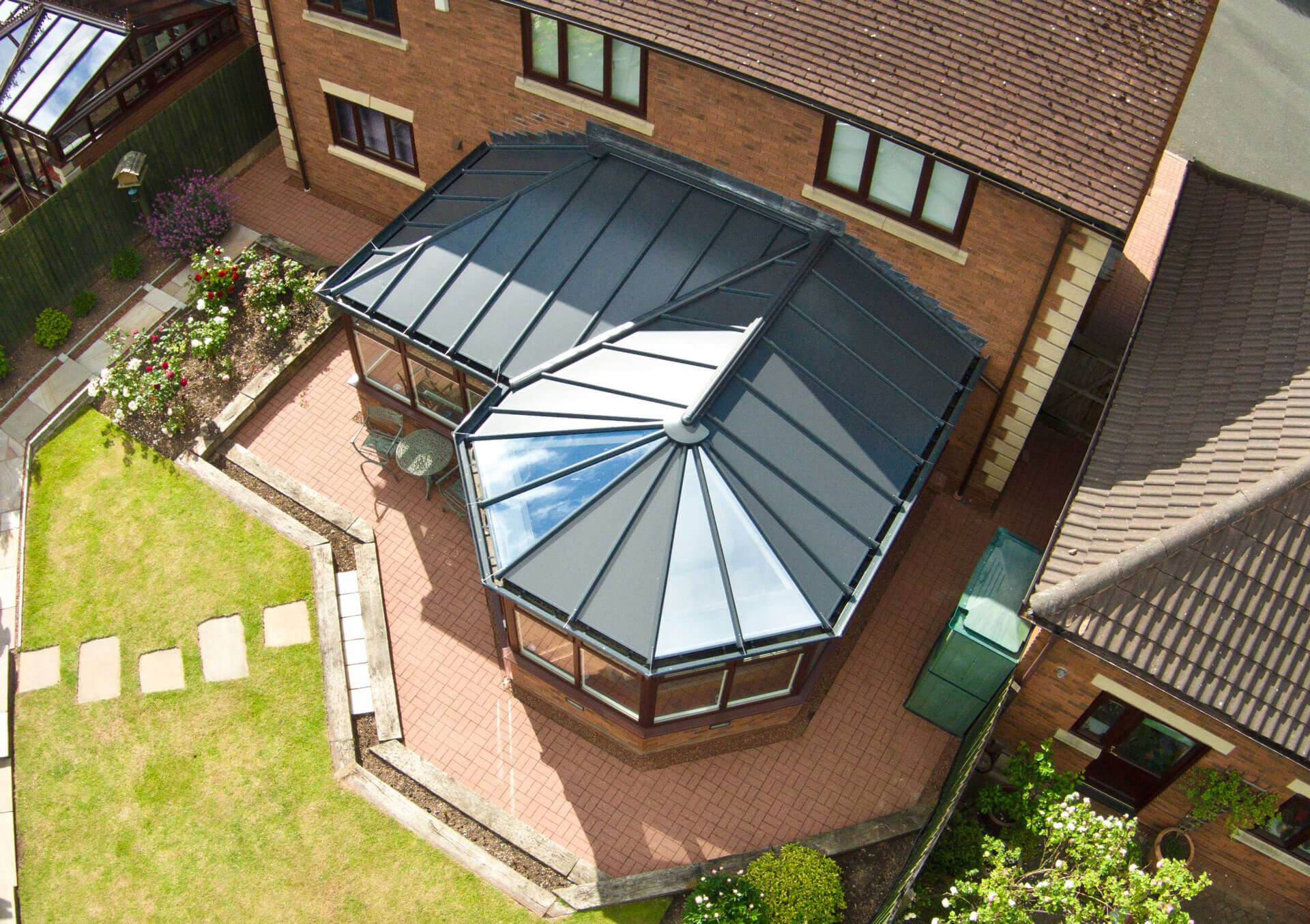 solid conservatory roof malvern
