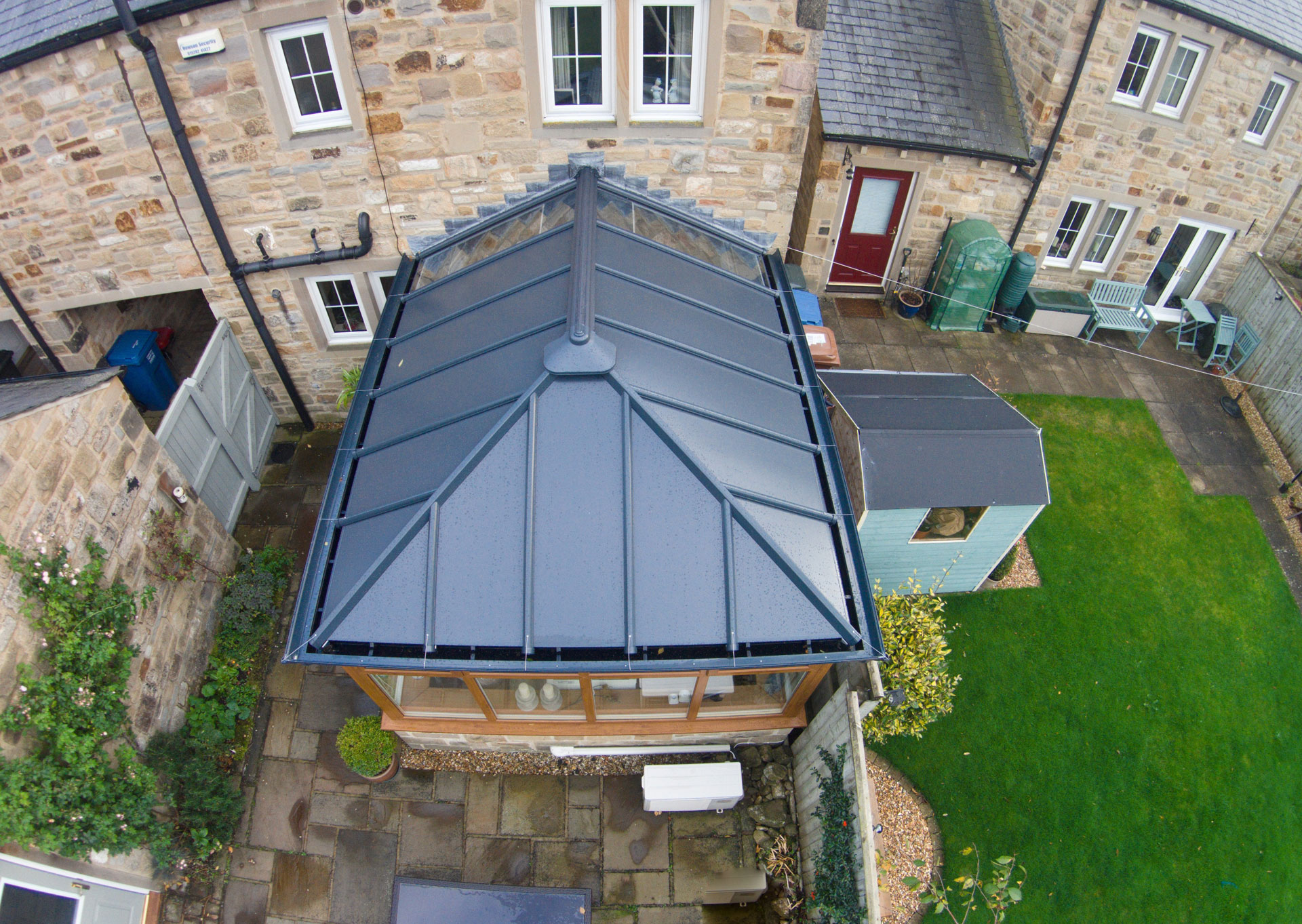 solid conservatory roof price malvern